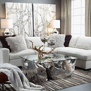 Del Mar Daybed Sectional 2 Pc Glam Living Room Living