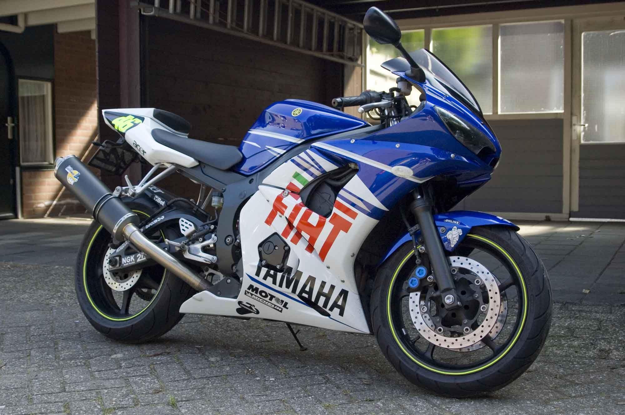 Yamaha R6 2003 Fiat - 20150116 #yamaha #r6 #fiat #motorrad | Yamaha