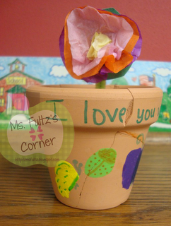 Mother's Day Ideas and free printable Mother's Day poems from Ms. Fultz's Corner