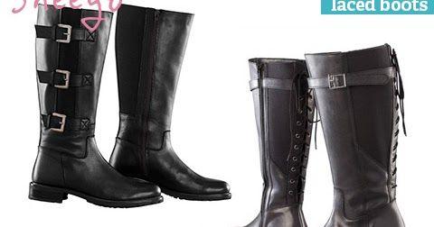 Wide calf boots from Weitschaftstiefel von Sheego, Evans