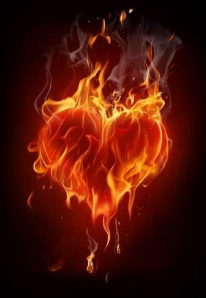 The True Meaning Of Having Heart Fire Heart Twin Flame Art Flame Art Fire heart background images hd