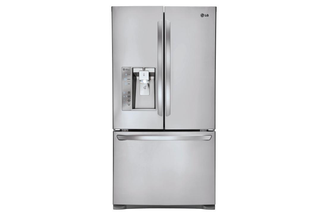 24 Cu Ft French Door Counter Depth Refrigerator Counter Depth Refrigerator Refrigerator Lg French Door Refrigerator