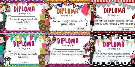 Maravillosos diplomas llamativos para el día de las madres - http://materialeducativo.org/maravillosos-diplomas-llamativos-para-el-dia-de-las-madres/