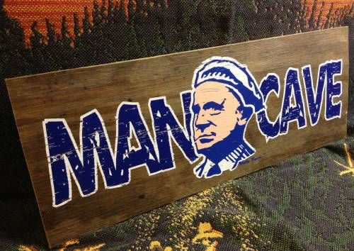 Man Cave Classifieds : Wally byam man cave sign airstream founder tct classifieds