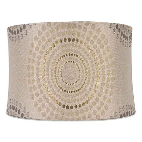 Bed Bath And Beyond Lamp Shades Fair Bed Bath & Beyond Mix & Match Medium 14Inch Metallic Geometric Design Decoration