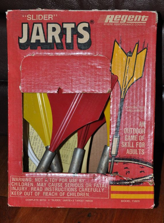6e516823 Regent Slider Jarts Lawn Darts with Box and by TumptOver on Etsy ...