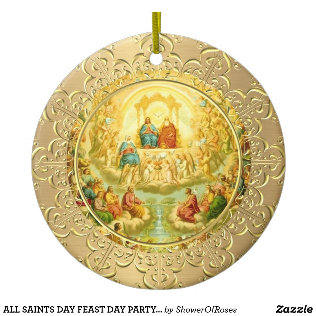 All Saints Day Feast Day Party Celebration Ceramic