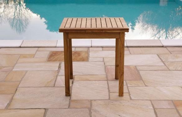 Tavolo In Legno Quadrato Allungabile.Tavolo In Robinia Mod Pitten Quadrato Allungabile Art Lgl