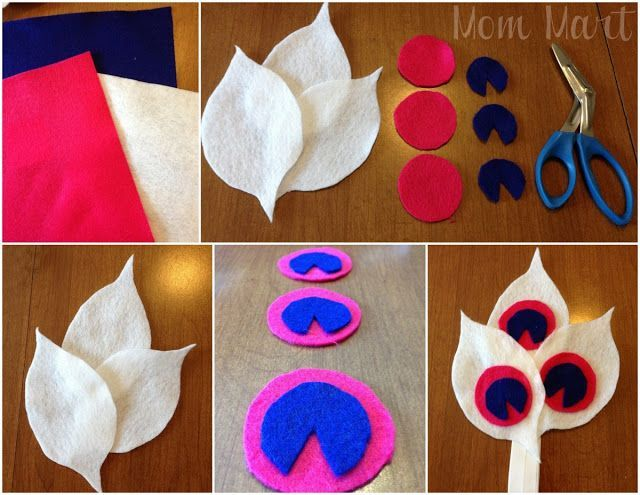 Felt Feather Baby Headband Tutorial #babyheadbandtutorial Felt Feather Baby Headband Tutorial #babyheadbandtutorial