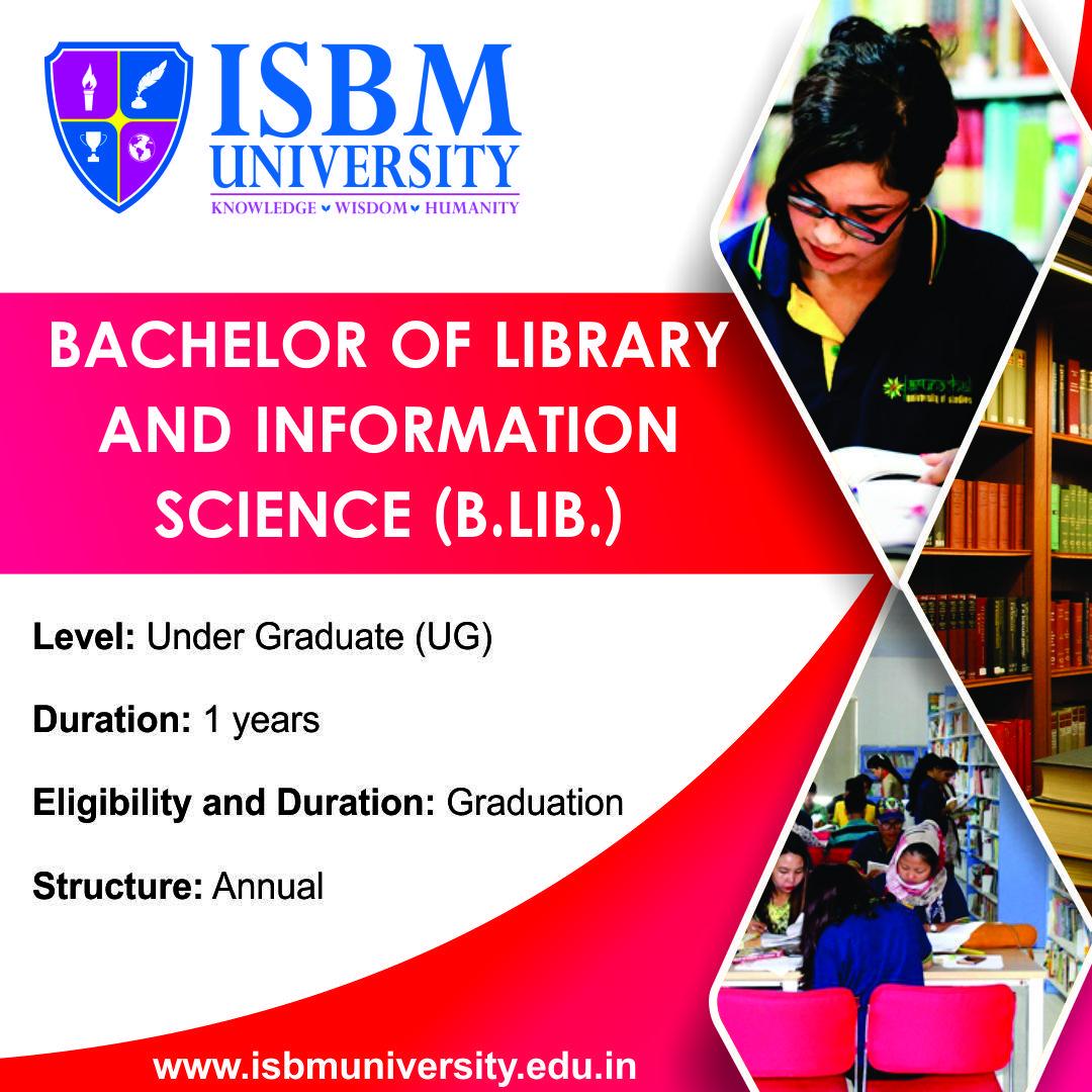 B Lib I S Program Trains Students In Modern