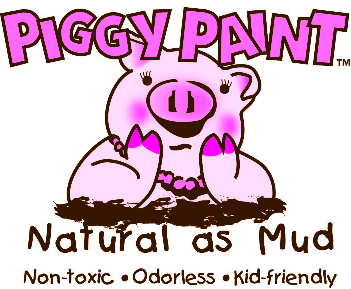 PIGGY PAINT Nontoxic, low odor nail polish that is much