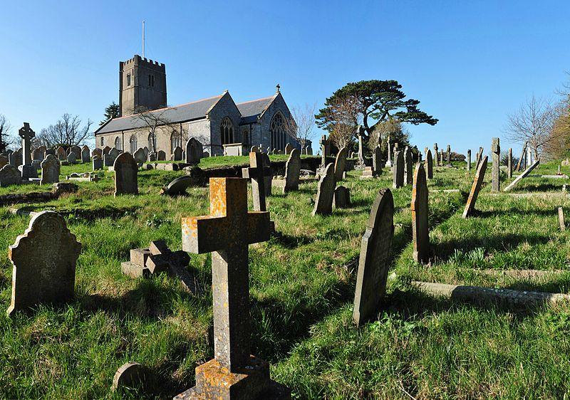 File:All Saints Church, Highweek from the graveyard.jpg