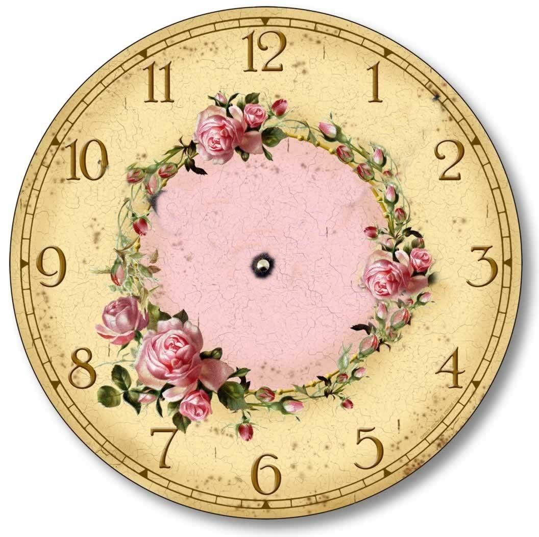 Clock Printables Seni Jam Dinding Desain