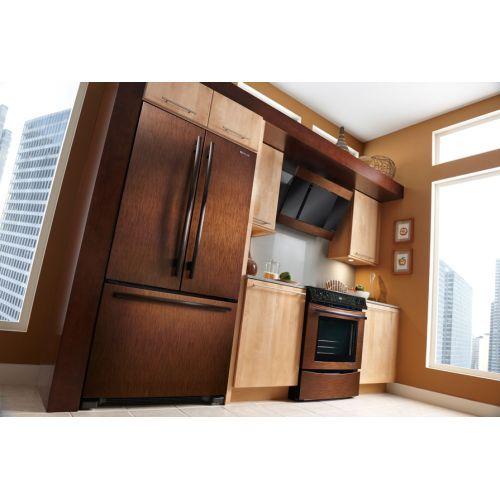 Kitchen Remodel Refrigerator: Bronze Appliances