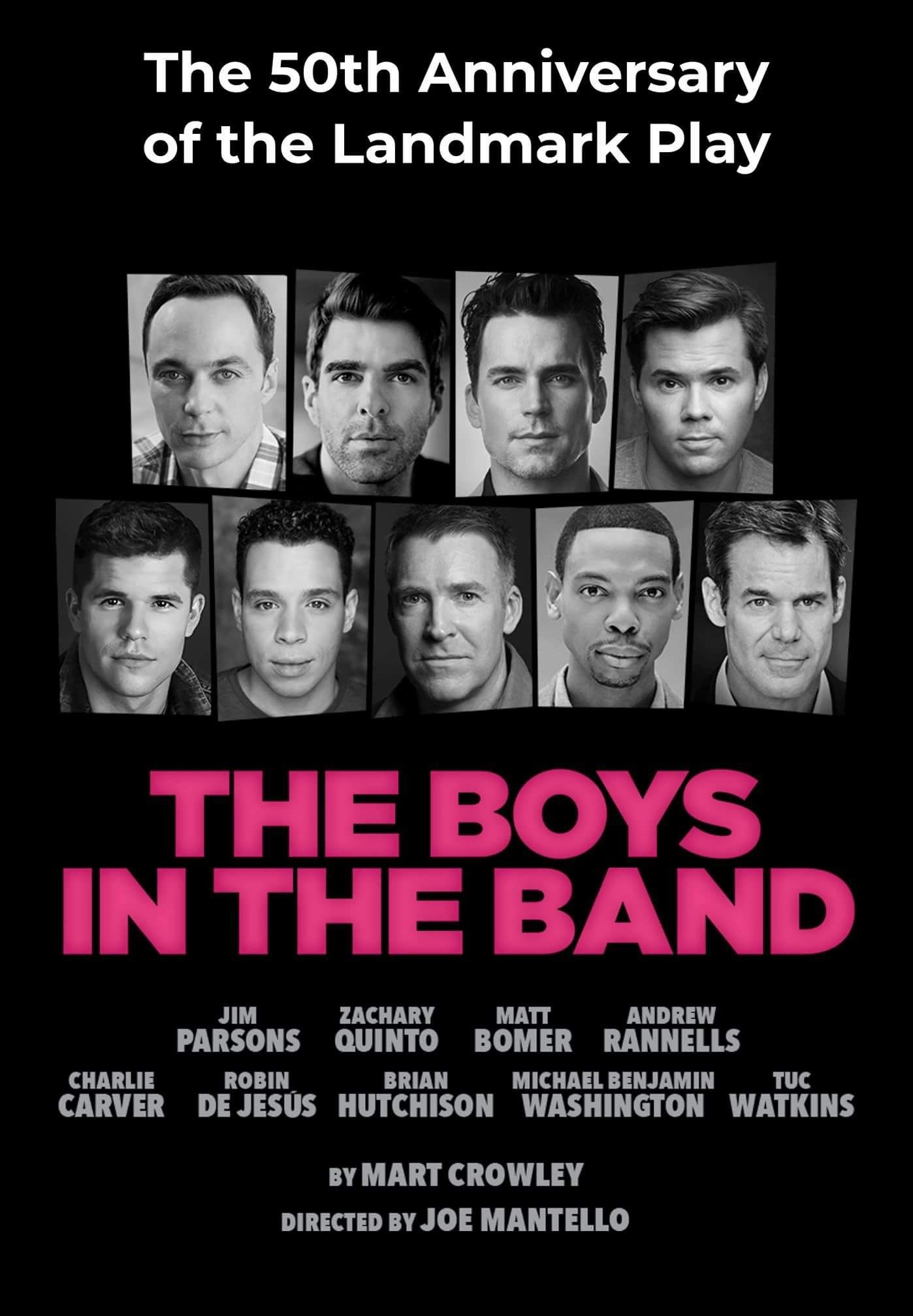The Boys In The Band American Actors Boys Movies Playing