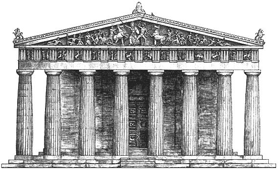 Parthenon Sketch. Would be a dope tattoo. Credit to ...