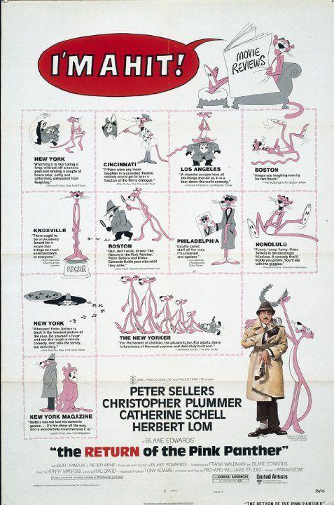 Vaaleanpunaisen pantterin paluu (1975)