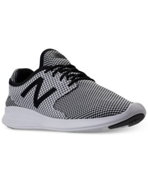 9d172c60141a New Balance Men's Coast V3 Running Sneakers from Finish Line - WHITE/BLACK  10.5