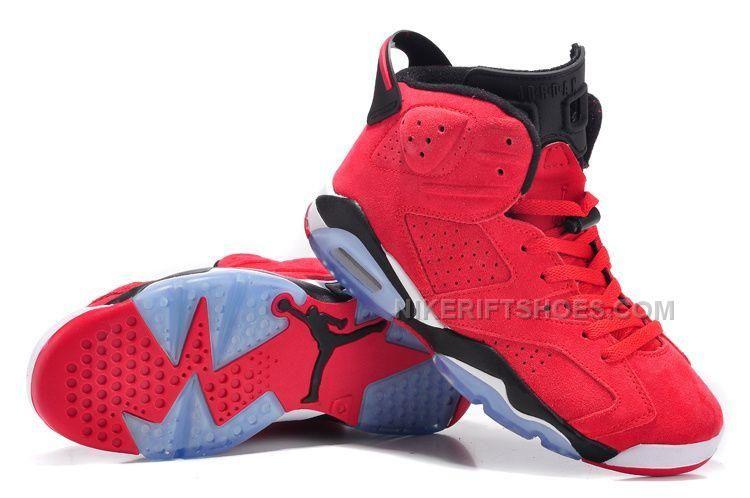 best website e9a4e 67f6c Air Jordan 6 VI Cactus Red Suede Black for Mens and Women, Price   86.00 -  Nike Rift Shoes