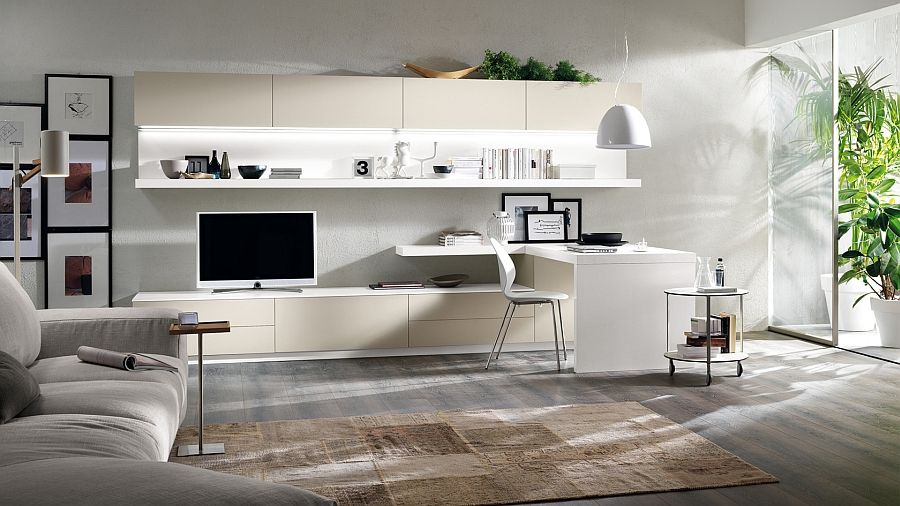 posh minimalist living spaces charm with geometric lines and sleek rh pinterest com living spaces furniture corporate office