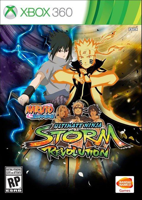 Naruto Ultimate Ninja Storm Revolution Completo Com Todas As Conquistas Xbox 360 Xbox 360 Xbox 360 Jogos Xbox