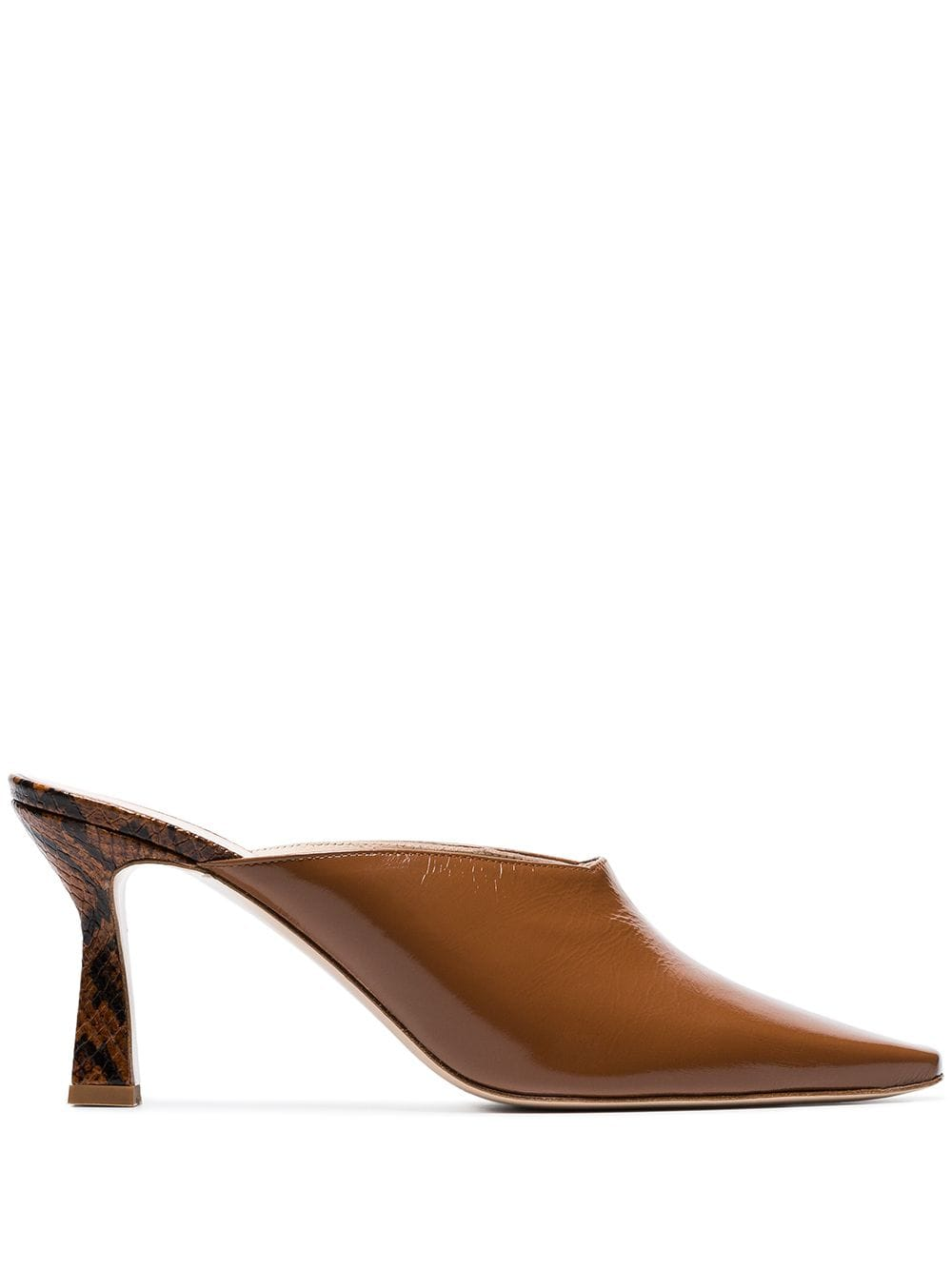 731833a87704c Wandler Lotte 75 mules - Brown in 2019 | Products | Leather mules ...