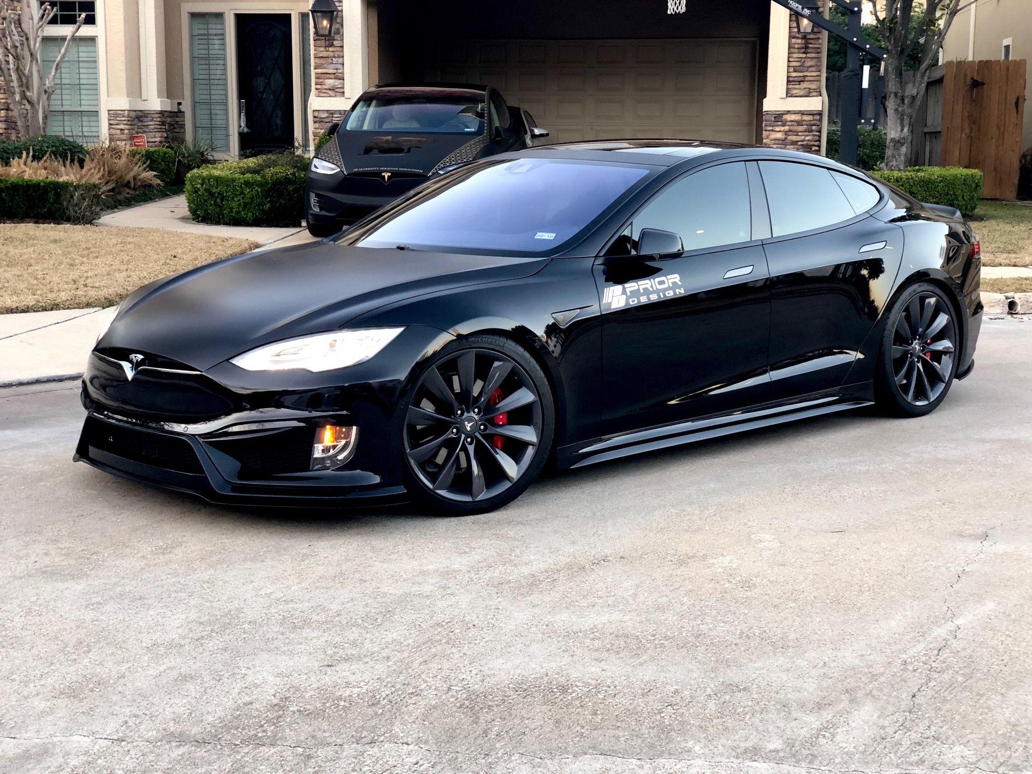 Prior Design Tesla Model S Body Kit Evs Motors Inc In 2021 Tesla Model S Tesla Model Tesla Model S Black