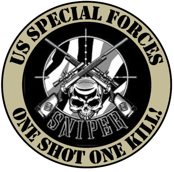 Army Sniper Logo Us Military Sniper Stops Us Army Pinterest