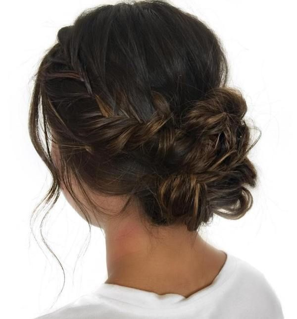 Welcome to the Dark Side: 40 Gorgeous Brunette Hairstyles -   3 hair Prom brunette ideas