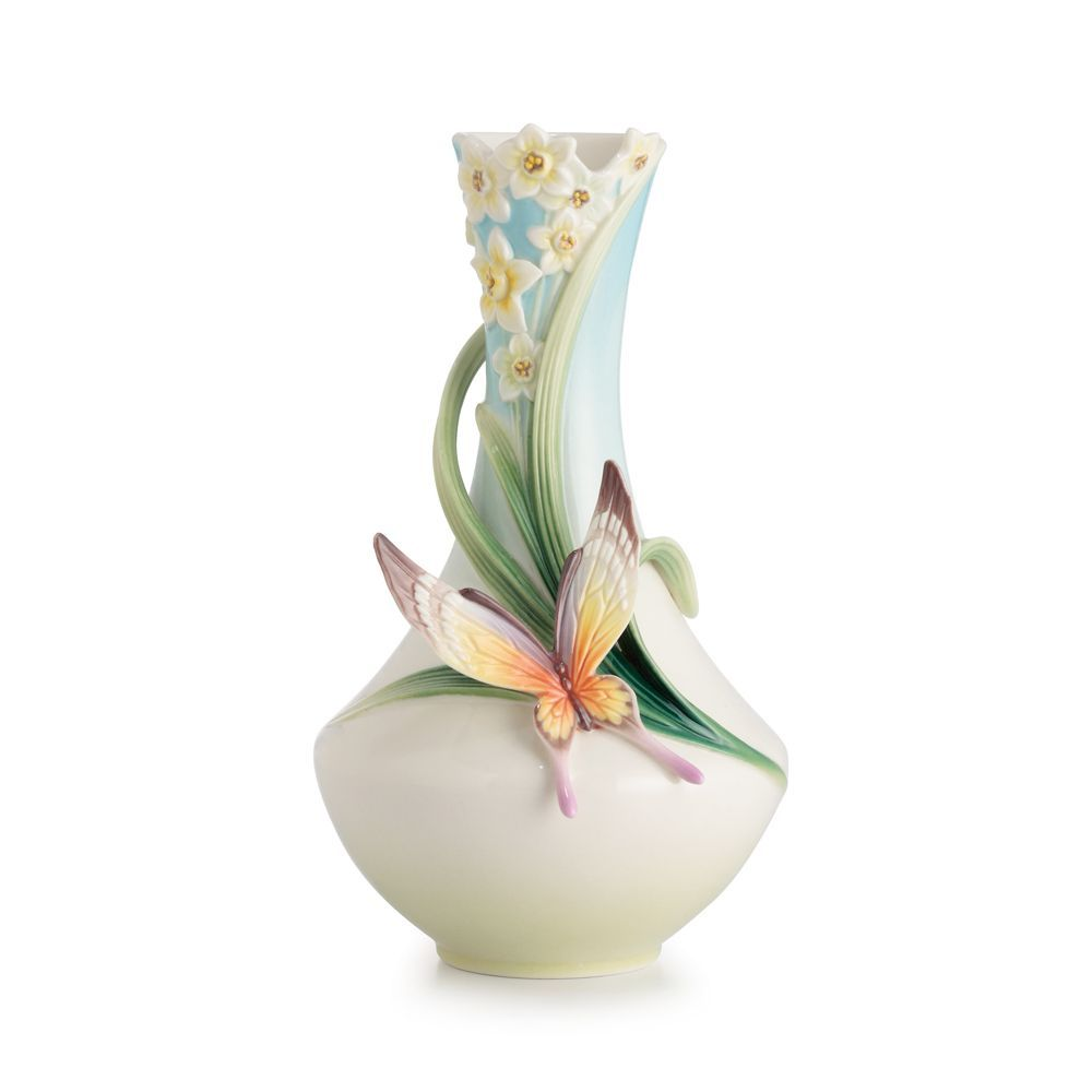 Franz collection papillon butterfly small vase porcelain hand franz collection papillon butterfly small vase porcelain hand wash imported 4 reviewsmspy