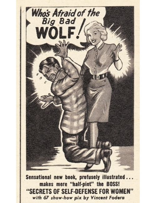 Pin By Michael On Vintage Advertising Self Defense Women Big Bad Wolf Classic Books