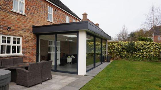 Veranda anbauen  oliver james garden rooms the flat white extension | home ...