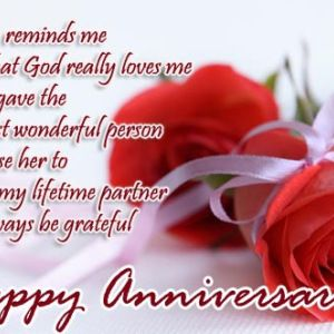 Quotes For Wedding Anniversary Wife