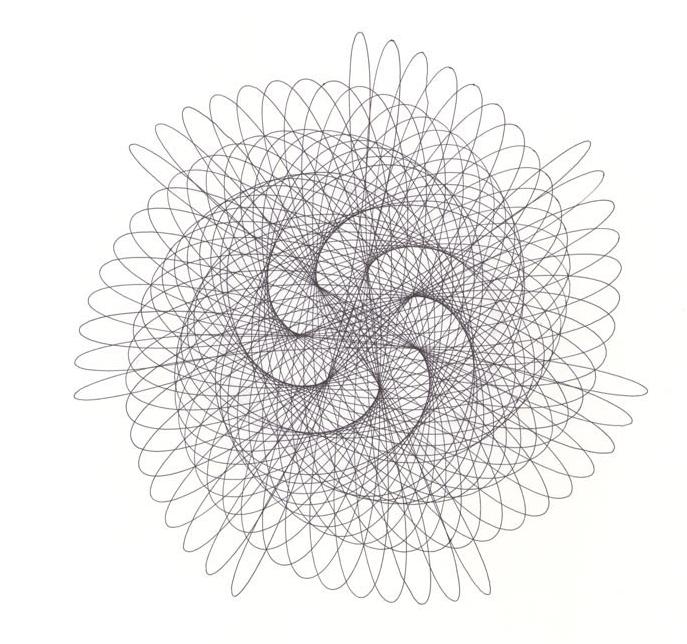 8 line swirl