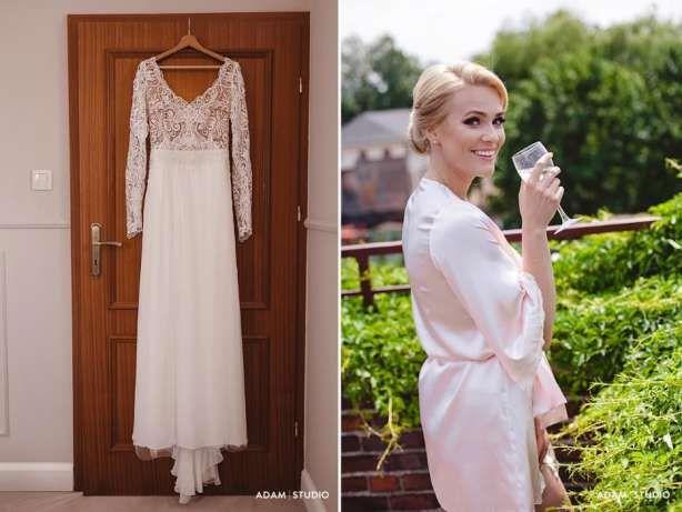 Suknia Slubna Sylwia Kopczynska Projekt Indywidualny Jedyna Taka Wroclaw Image 5 White Dress Fashion Dresses