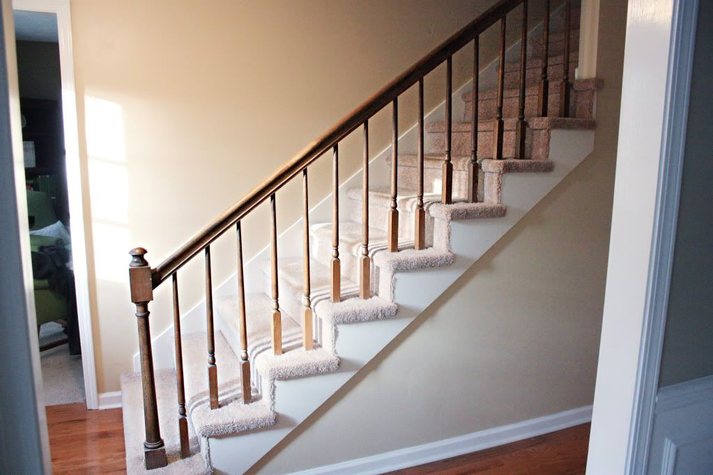Best How To Paint Stairway Railings Painted Stairs Painted 400 x 300