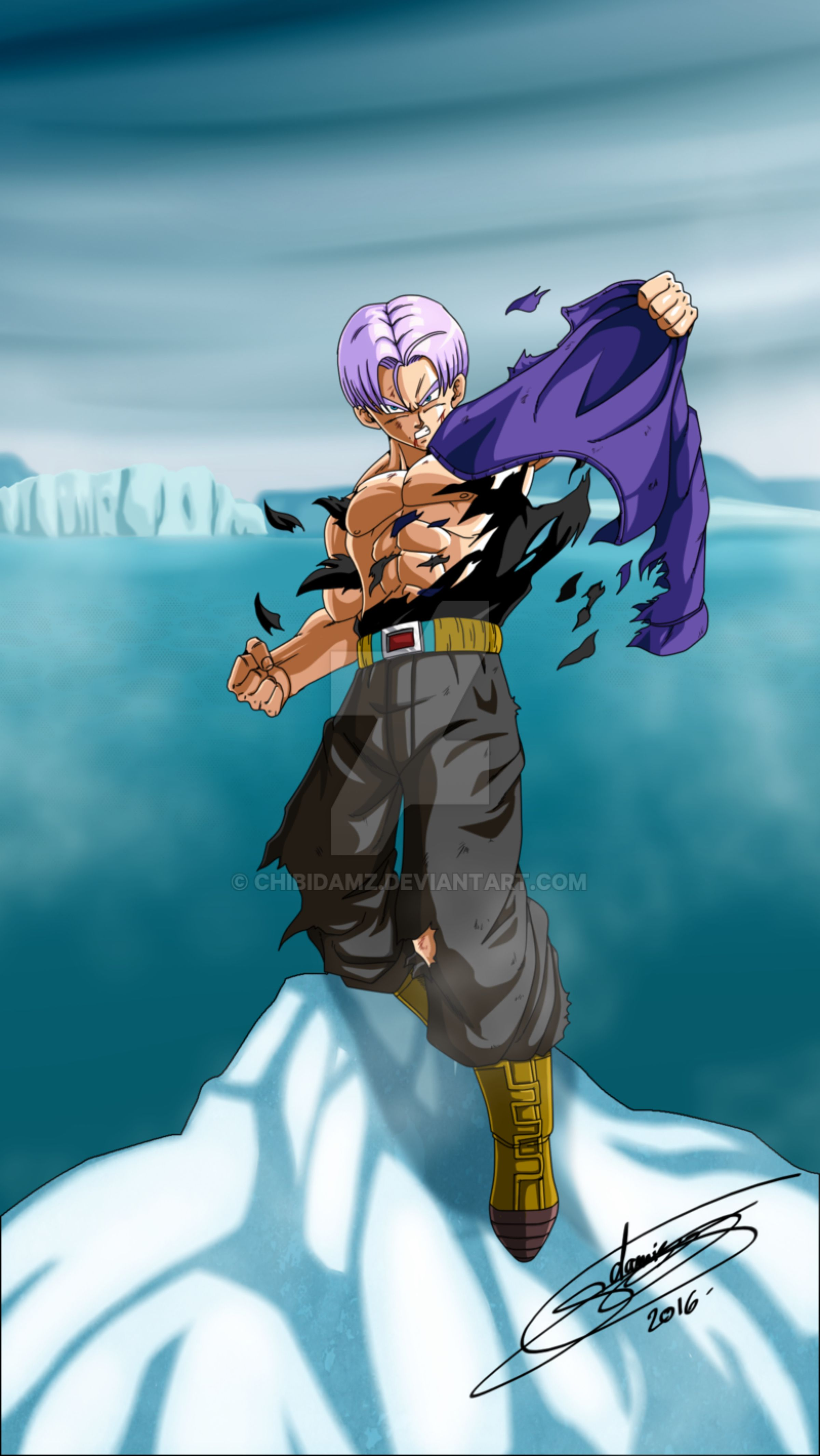 Future Goten And Trunks Mirai Trunks by...