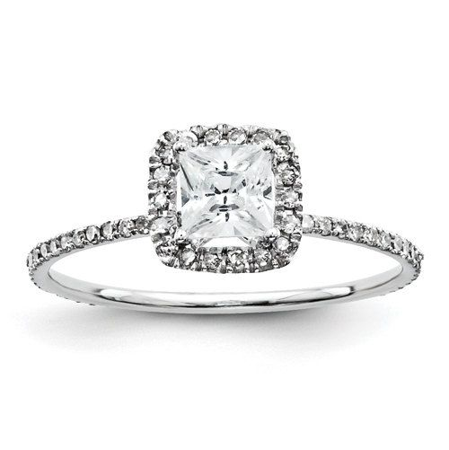 Thin Band Unique Diamond Antique Eternity Princess by LyonsJewelry, $595.00