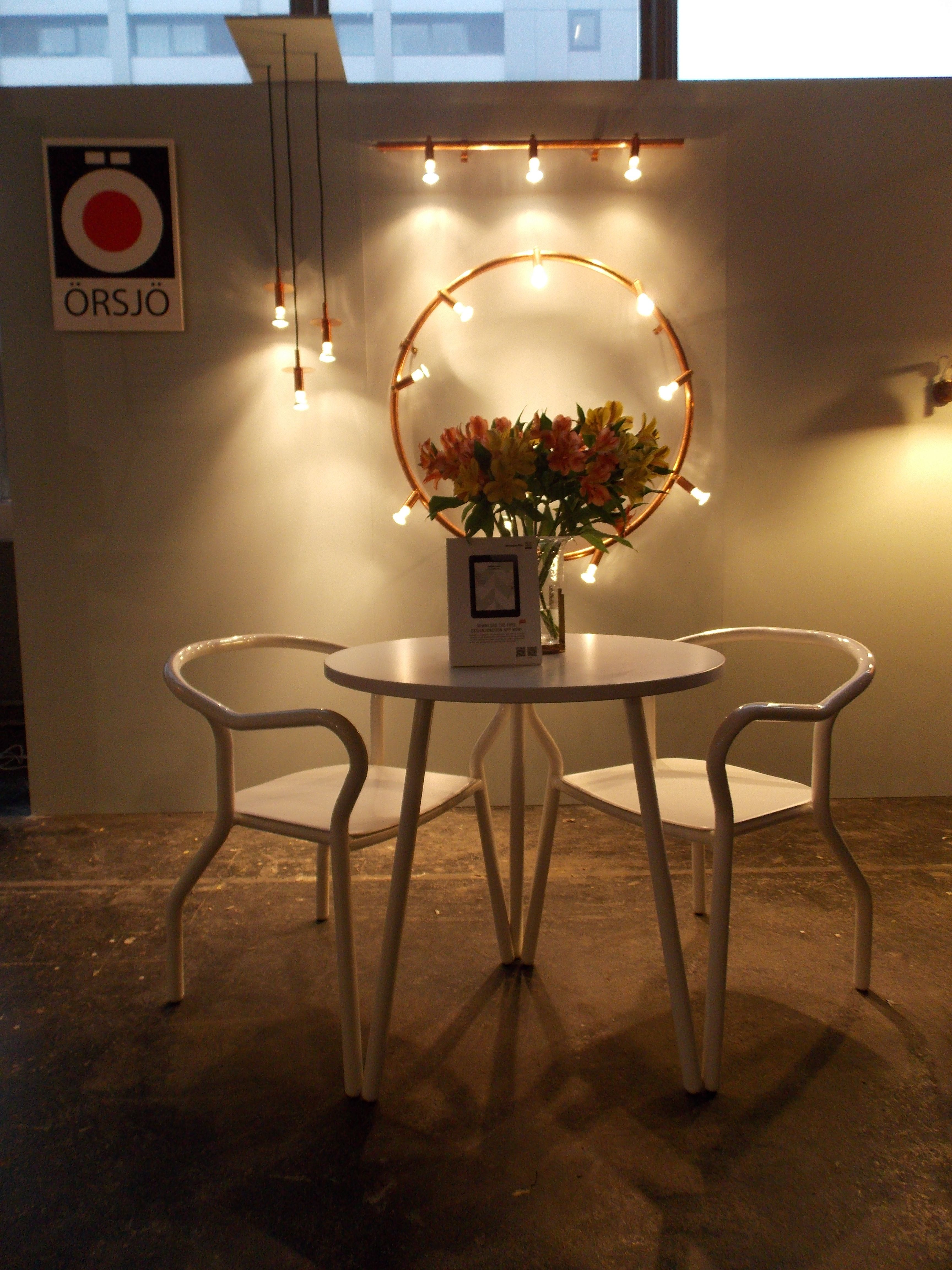 Montmartre table and chairs by Jonas Wagell for Mitab and Star ...