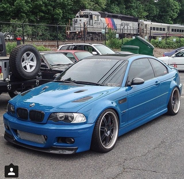 My Laguna Seca Blue Bmw E46 M3 With Tons Of Custom Mods Pic By