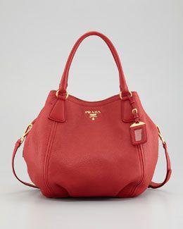 f5451791ca07d L027E Prada Vitello Daino Tote Bag