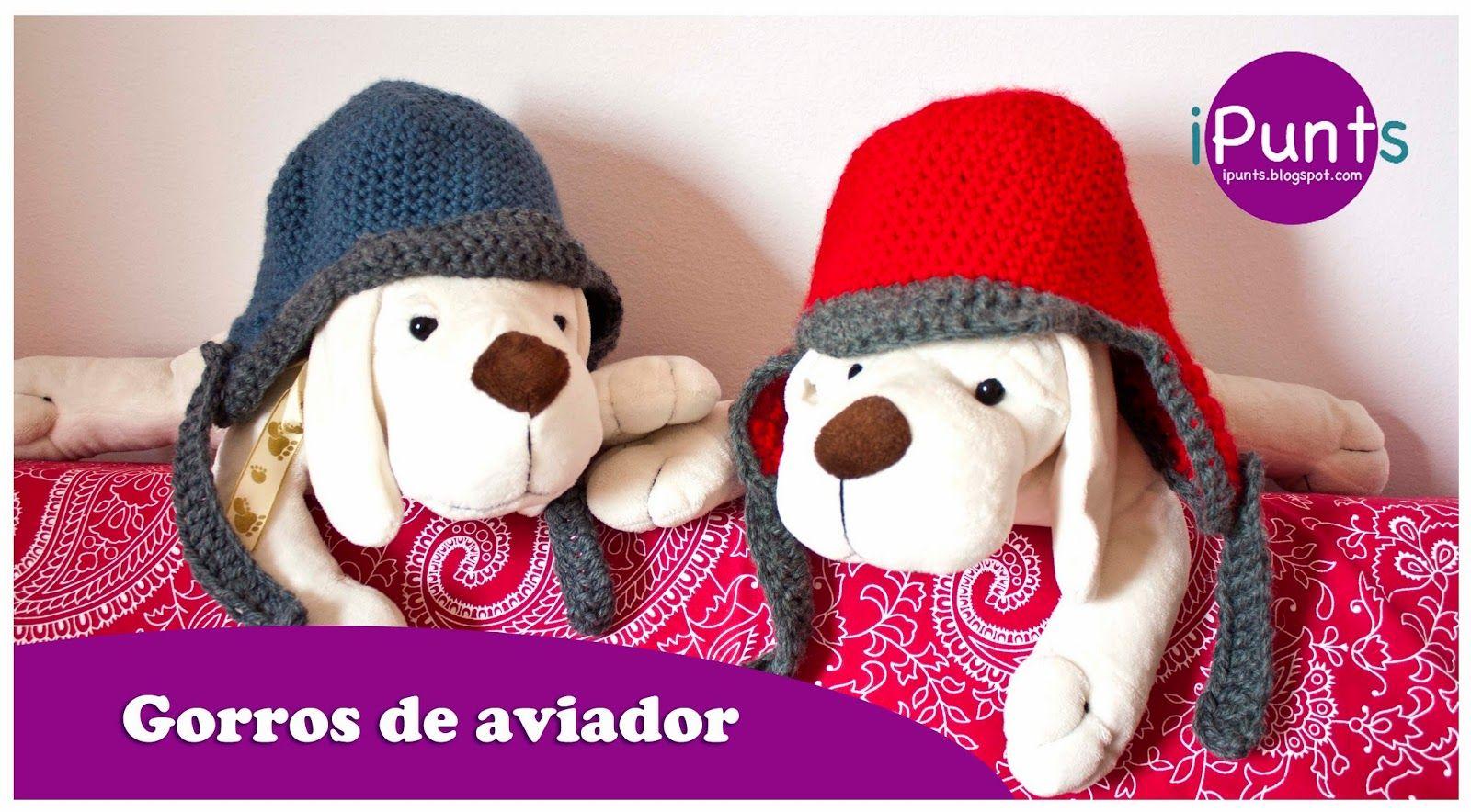 Patrón gratis de crochet para hacer estos gorros infantiles en nuestro blog  de iPunts. 6e2c441120e