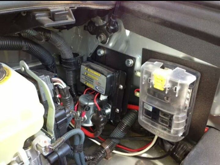 Dual Battery System With Blue Sea Auxiliary Fuse Block Repair
