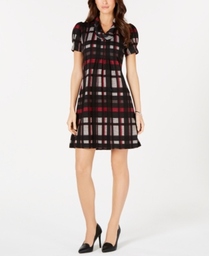 359c77bf7d8 Jessica Howard Petite Plaid Sweater Dress - Red PXL in 2019 ...