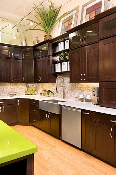 Mission - Maple - Java -- Cabinetry By Karman