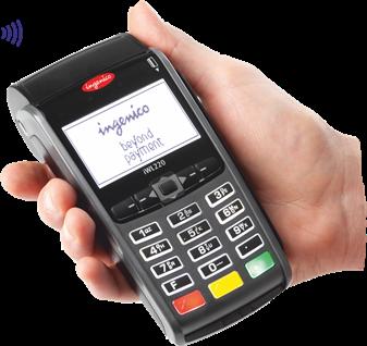 VeriFone Artema Hybrid Credit Card Terminal 64Bit
