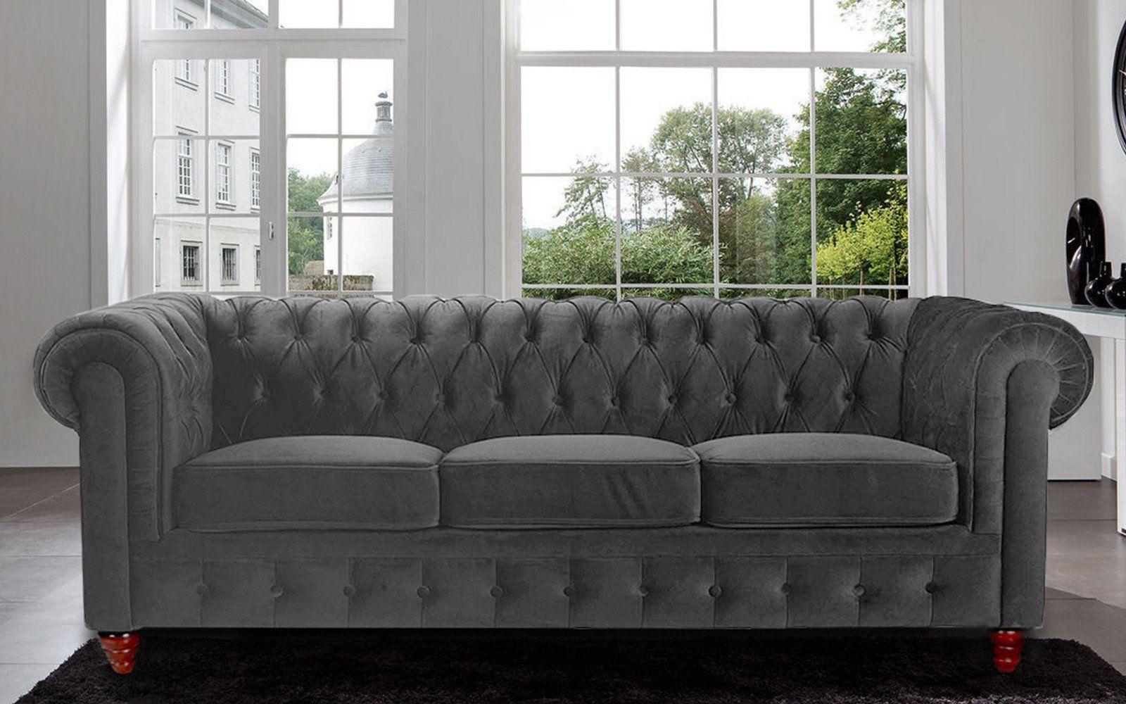 Velvet Chesterfield Sofa Prices Designer Sets With In Delhi Charleston Classic Grey Apartment