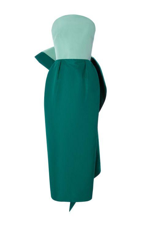Strapless Bow Dress by Rosie Assoulin for Preorder on Moda Operandi