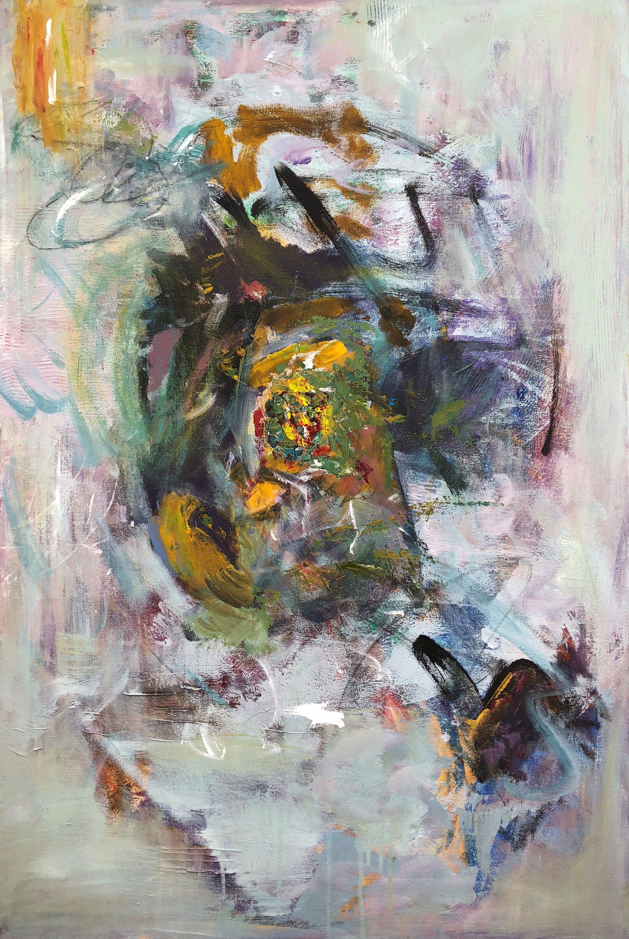 Vortexud u door to the unexpected abstractart abstractpainting