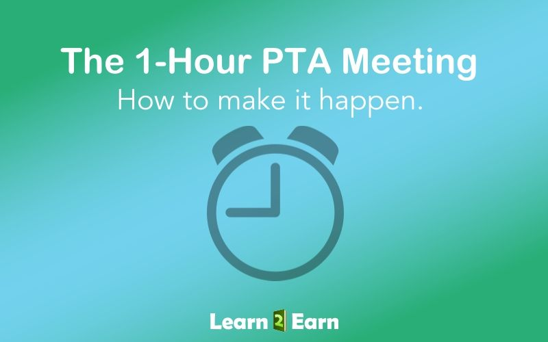 yes you too can have an efficient 1 hour pta meeting pta tips